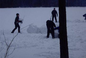 Snöfästningar