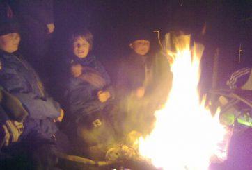 Runt elden